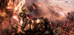 Storm of Chaos by slaine69