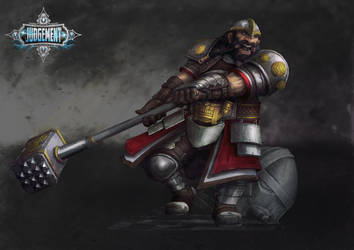 Thrommel IronBeard by slaine69