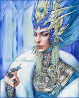 Snow Queen by DalfaArt