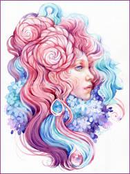 Rose tenderness by DalfaArt