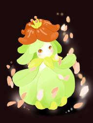 Liligant used Petal Dance by arekanderina