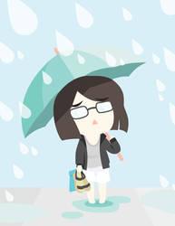 It's a Rainy Day! by arekanderina