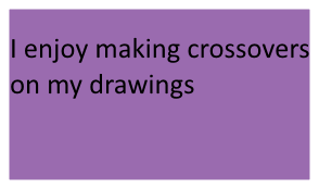 I Enjoy Making Crossovers Stamp by SmoothCriminalGirl16
