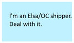 Pro Elsa/OC stamp by SmoothCriminalGirl16