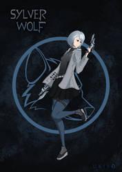 SLVR - Caradesign - Sylver Wolf by Ten-Tsuki