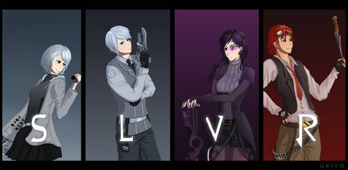 Team SLVR - A RWBY fanmade team by Ten-Tsuki