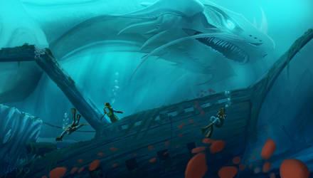 Sea Dragon by Ten-Tsuki