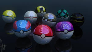 PokeBalls 4 by alexdarkred