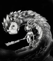 Serina: Seaward Siren Rough by Snowman999