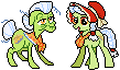 Annie and Granny Pixel by xXmegamuffinXx