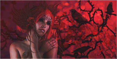 Dusk Requiem - Queen of Dark Element by MLArtistry