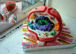 Biology Cell Cake by NicoleWilliam