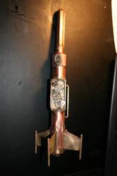 Steampunk Rocket by Paul-Nasca