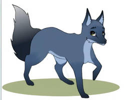 Blue Fox 2 by Elisiami