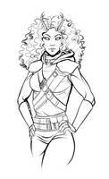 Sketch: Trala by BlackDeathman