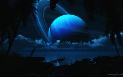 Tropical Moon by dblasphemy