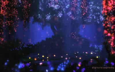Satori Night (Alien) by dblasphemy