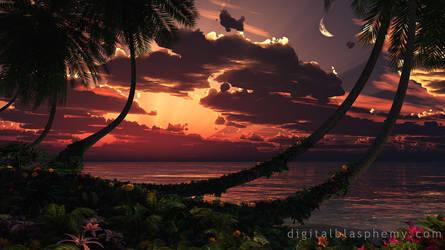 Painted Sky by dblasphemy