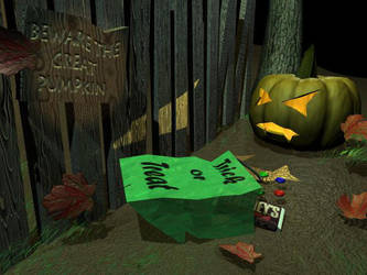All Hallow's Eve, take 2 by b-lackwings