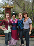 DisneyWorld: Mulan by caleigh