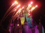 DisneyWorld: Castle by caleigh