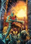 Duke Nukem II Remake cover by Xermanico