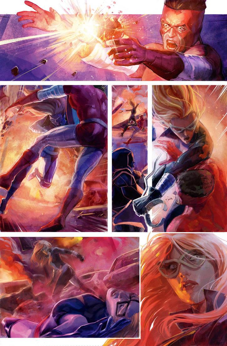Colour Comic sample by Xermanico