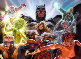 Justice League International - New 52 by Xermanico
