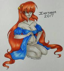 Day 27 - Fertility Goddess  by shyninjaneko