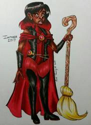 Day 30 - My Witchsona  by shyninjaneko