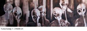 gas mask by tuncasubasi