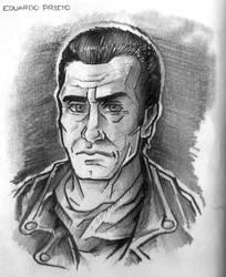 TWD Comic - Negan sketch. by TheWalkerPrieton