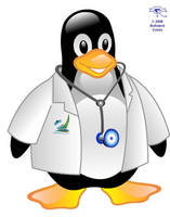 Tux Salud Puerto Montt by Bufoland