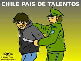 Chile Pais de Talentos by Bufoland