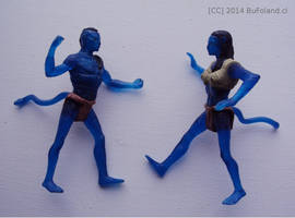 Figuritas de Avatar 1 by Bufoland