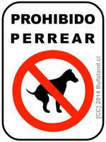 Prohibido Perrear by Bufoland