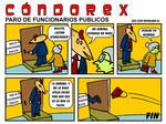 Condorex, Paro de Funcionarios Publicos by Bufoland