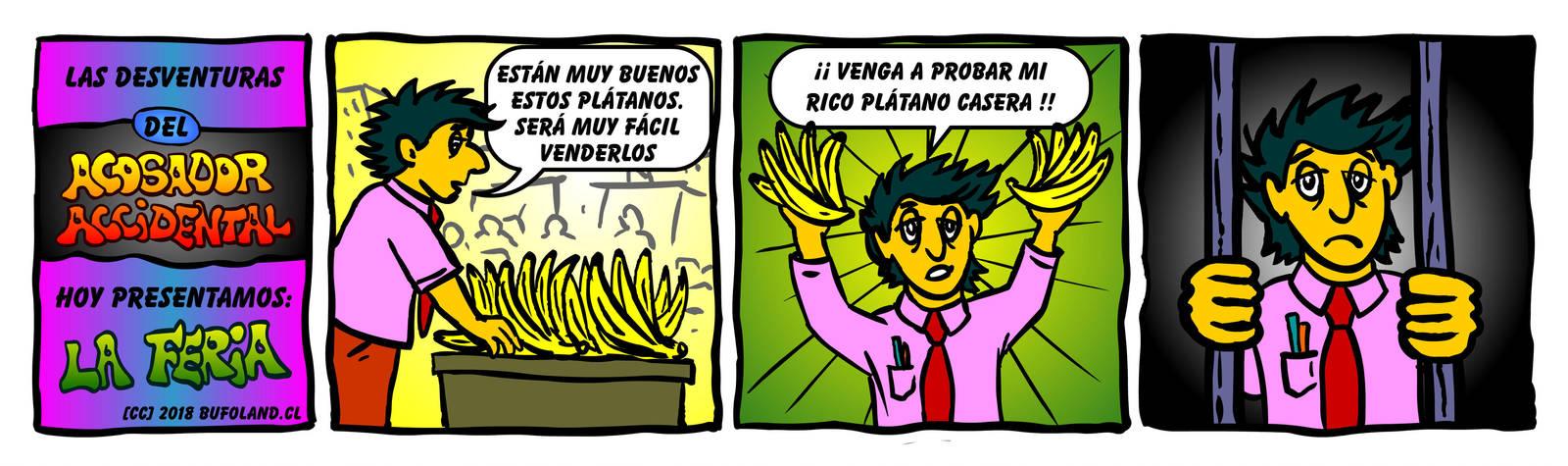El Acosador Accidental 001 by Bufoland