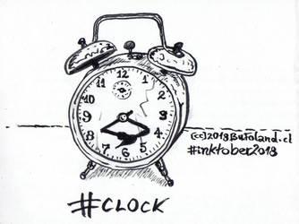 Clock - Reloj by Bufoland