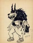 Hombre Lobo Yoyo 1990 by Bufoland
