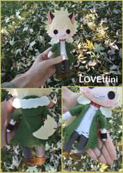 My hero academia Bakugou plush - Halloween ver. by LOVEttini
