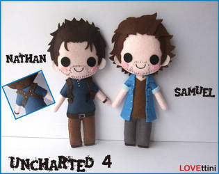 Uncharted 4 Game Plush by LOVEttini
