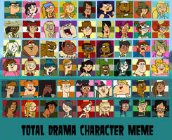 Total Drama Character Rankings by Christlover357