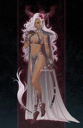 Commission: Priestess by Denoro