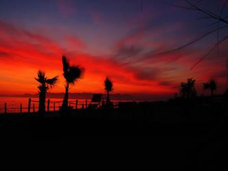 Sky on fire by KanonChou