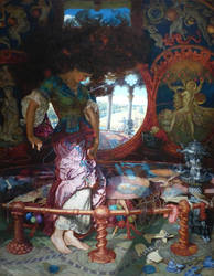 The Lady of Shalott by William Holman Hunt by Ovid2345