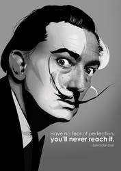 Salvador Dali by imnoooze