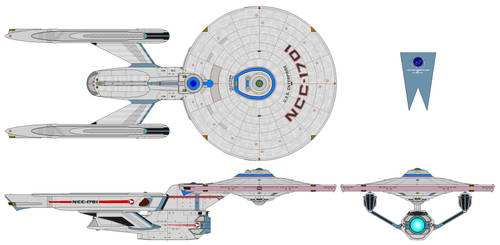 Alternate Enterprise by MorganDonovan