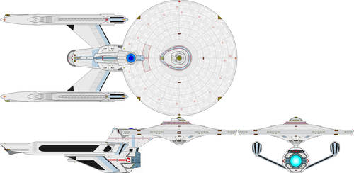 Nurnberg class tactical cruiser by MorganDonovan