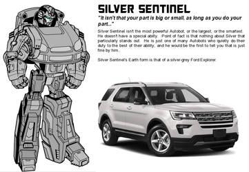 Silver Sentinel by MorganDonovan